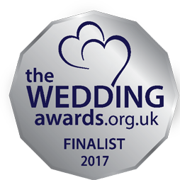 finalist badge for the wedding awards 2017 - best wedding planner