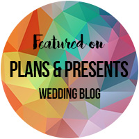 Featured on wedding blog